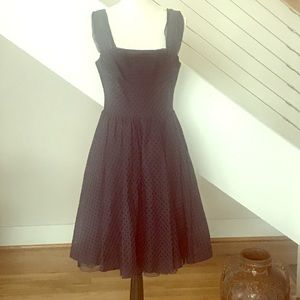 Girls From Savoy/Anthropologie Black A-line Dress